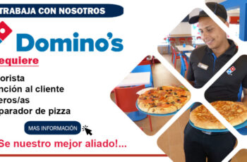 Empleos en Domino´s Pizza