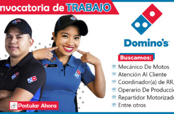 Trabajos en Domino's Pizza