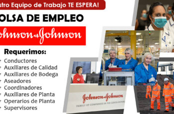 Trabajos en Johnson & Johnson