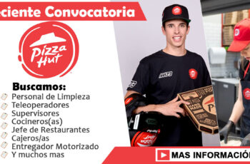 Trabajos en Pizza Hut